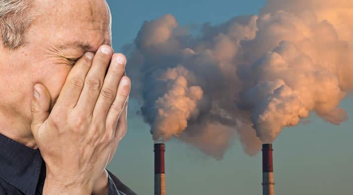 luchtvervuiling en lichamelijk functioneren